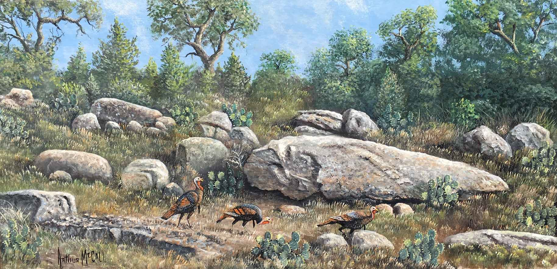 Foraging Ahead by  Arthur McCall - Masterpiece Online