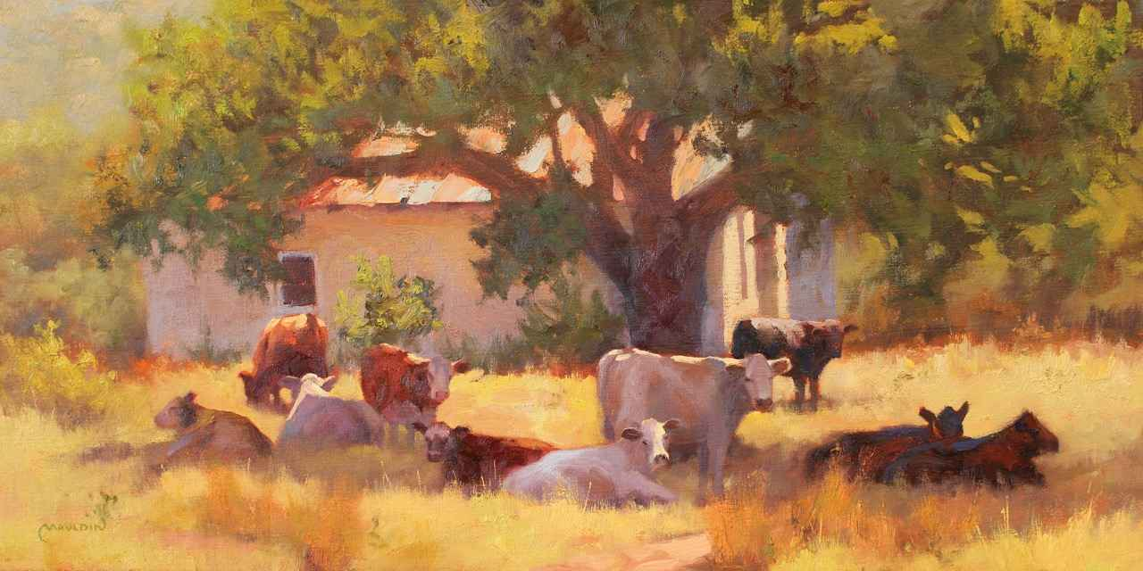 Herd the News? by  Chuck Mauldin - Masterpiece Online