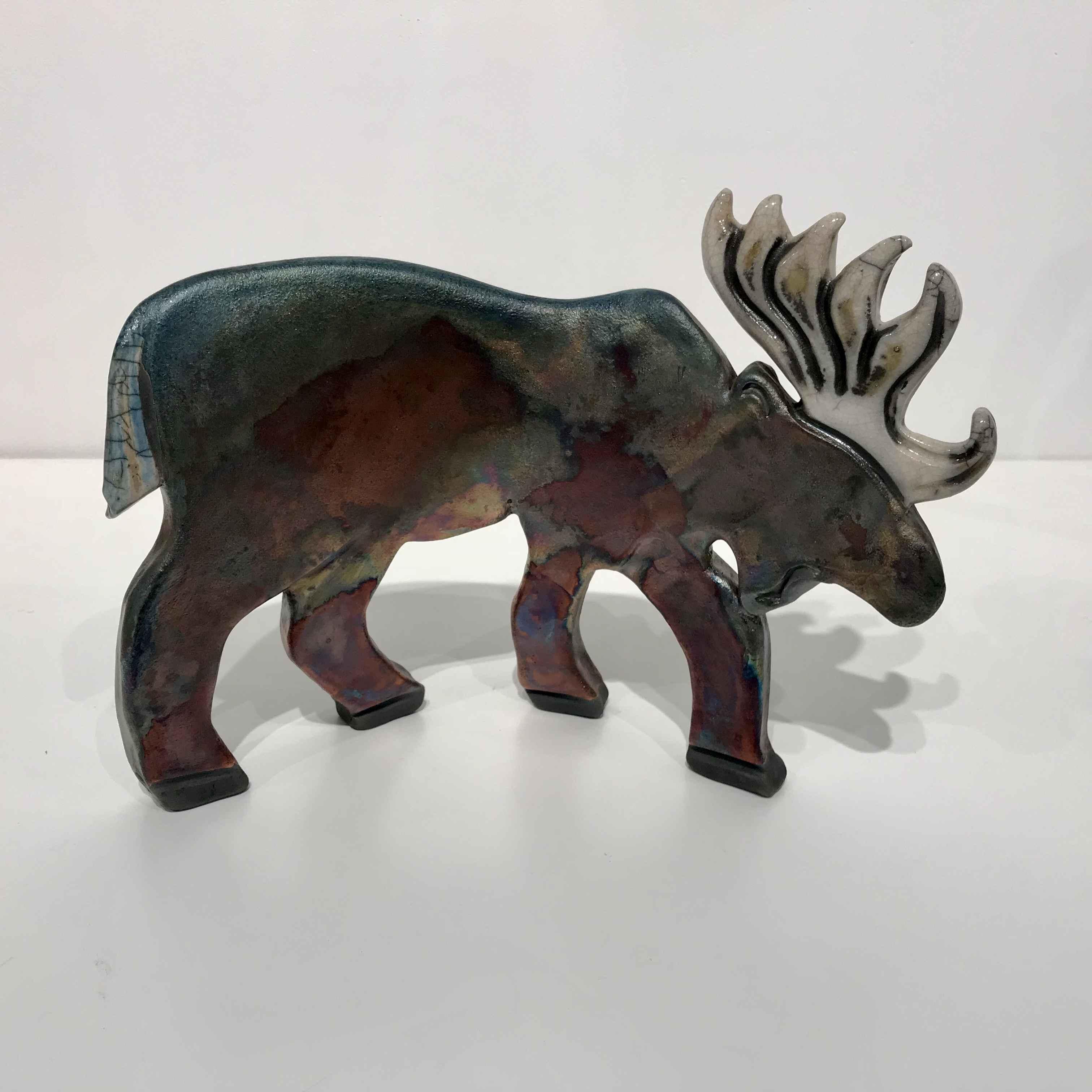 Moose by  Leslie Bolin - Masterpiece Online