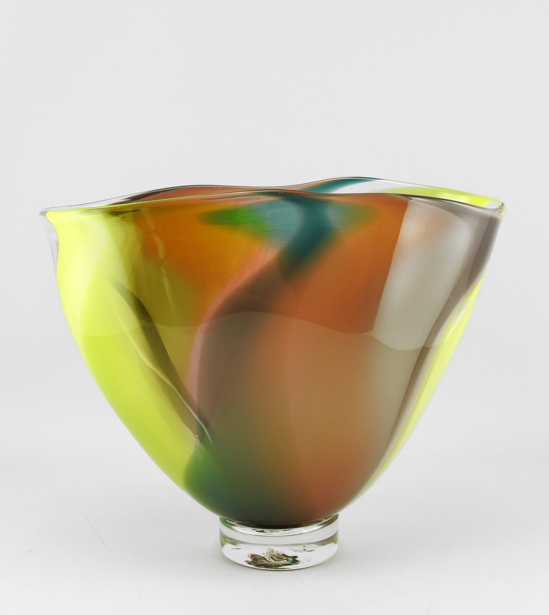 2 Sided Banded Bowl by  Robinson Scott - Masterpiece Online