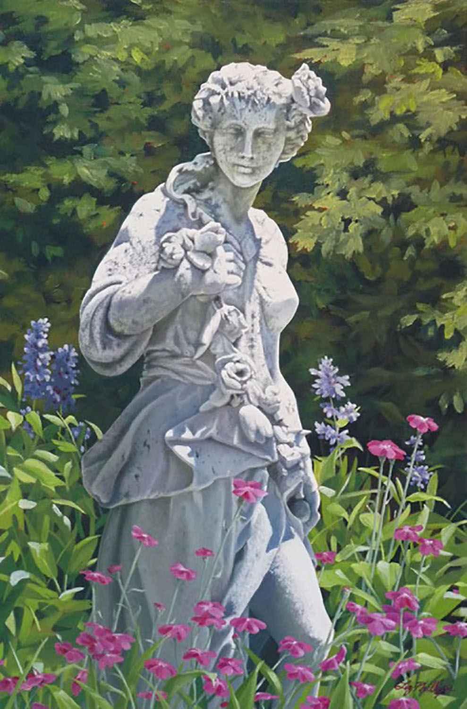 Garden Goddess by  Liz Phillips - Masterpiece Online