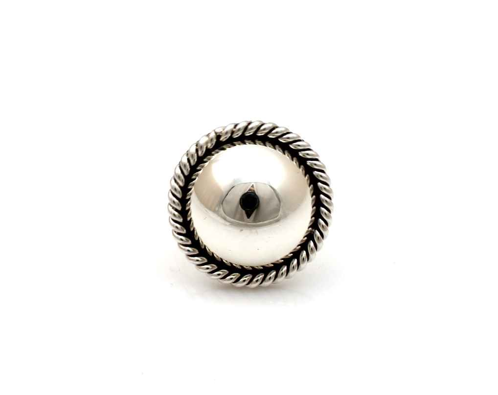 Twist Silver Ring by  Artie Yellowhorse - Masterpiece Online