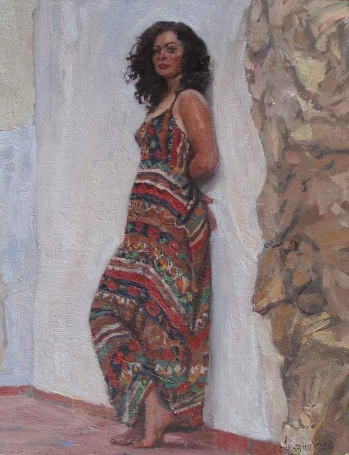 Anna's Courtyard by  Daud Akhriev - Masterpiece Online