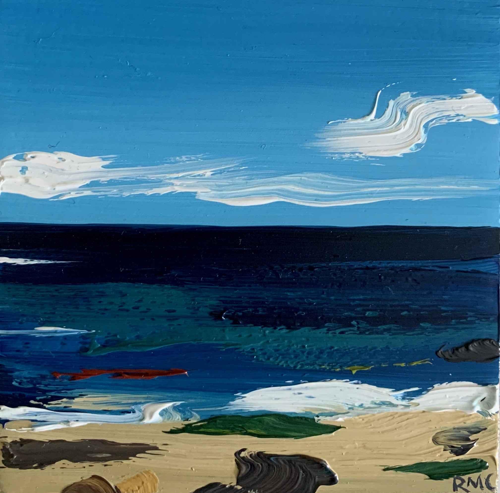 Vibrant Sea by  Rachael Cassiani - Masterpiece Online