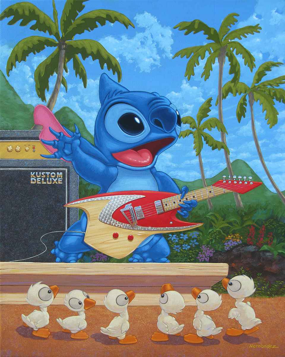 Island Rock Star by  Manuel Hernandez - Masterpiece Online