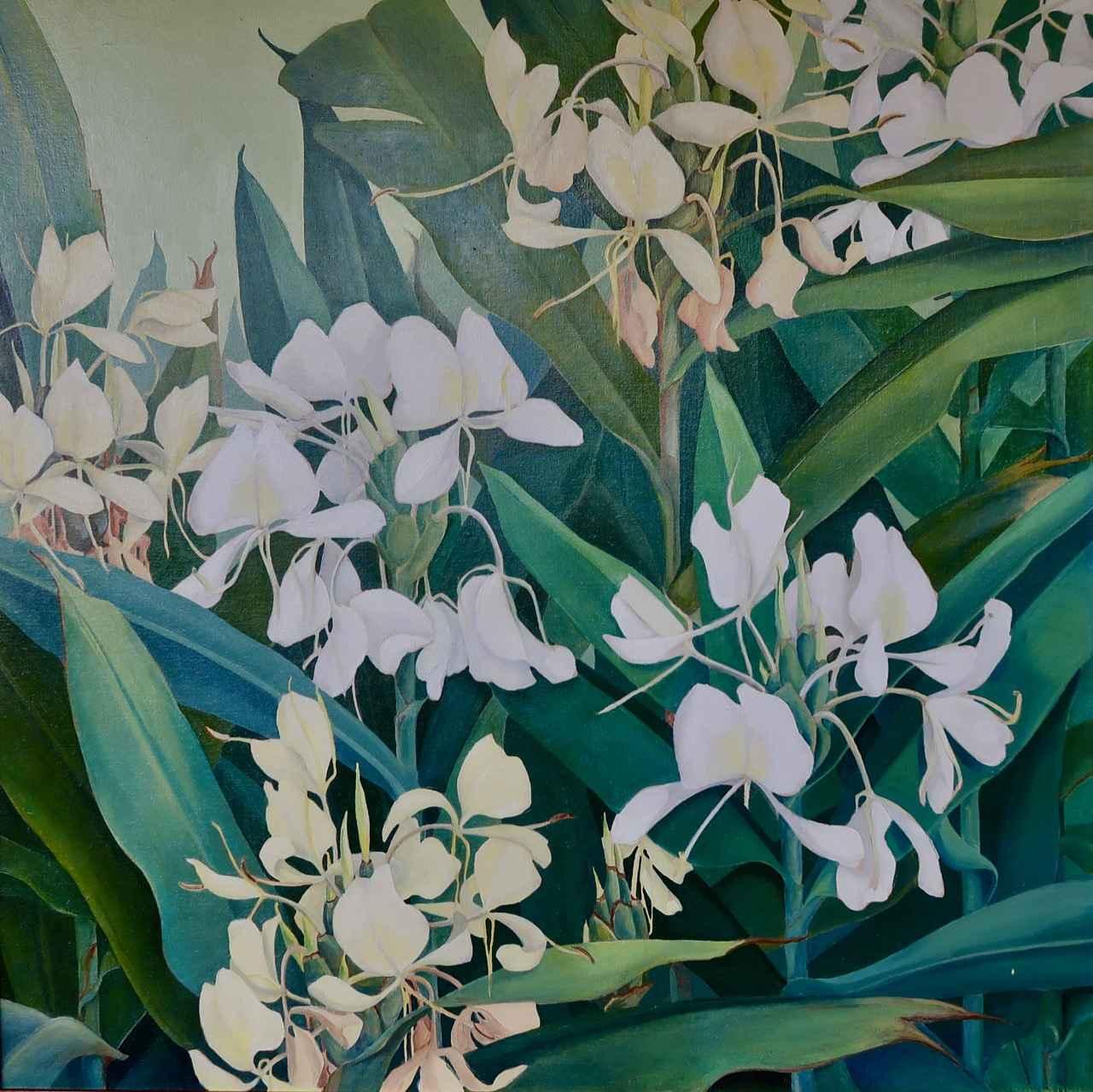 Hawaii Floral Ecstasy... by  Genevieve Springston Lynch (1891-1960) - Masterpiece Online