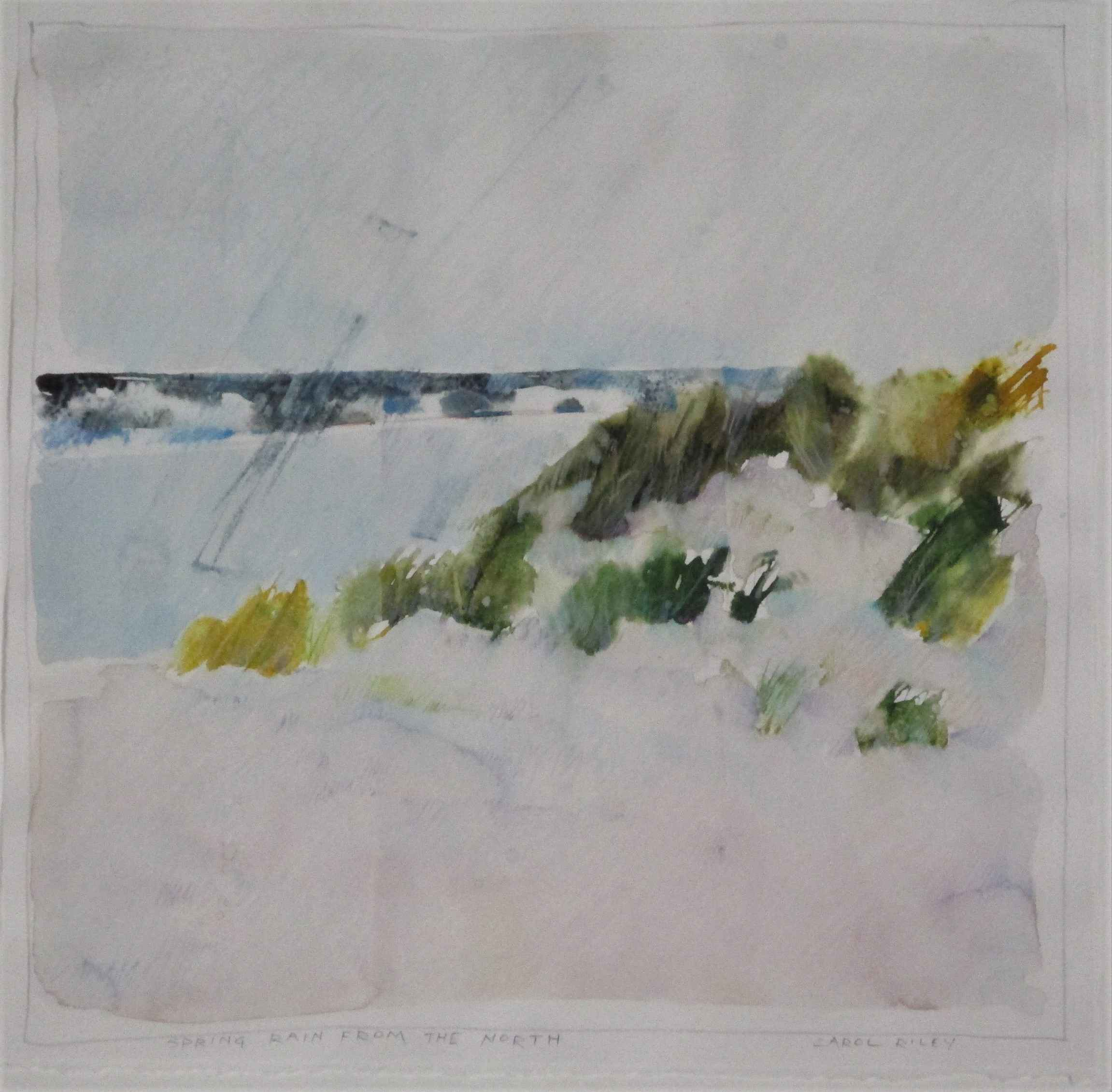 Spring Rain from the ... by  Carol Riley - Masterpiece Online