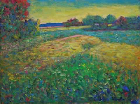 Summer Field in Stock... by  Andres  Morillo - Masterpiece Online
