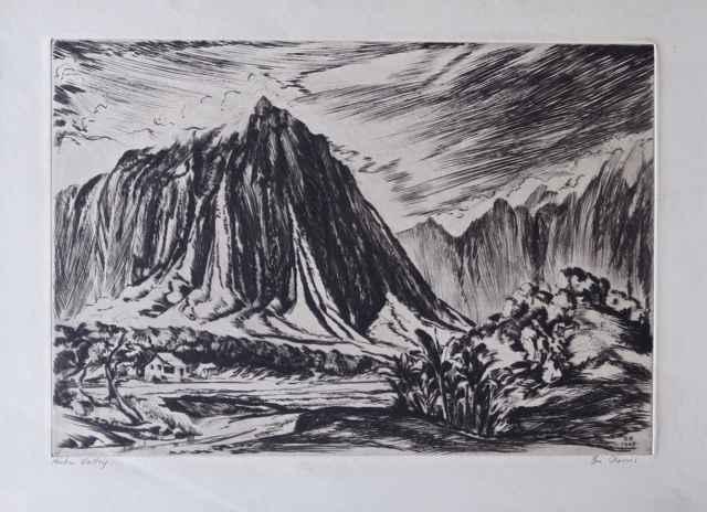 Haiku Valley by  Robert Benjamin Norris (1910-2006) - Masterpiece Online