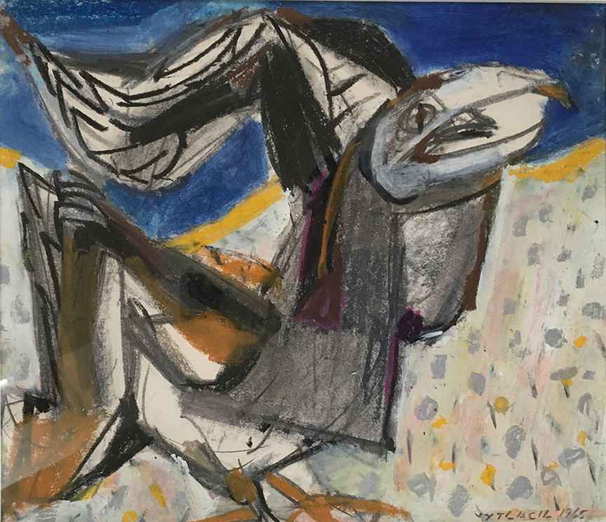 Seagull, 1965 by  Vaclav Vytlacil - Masterpiece Online