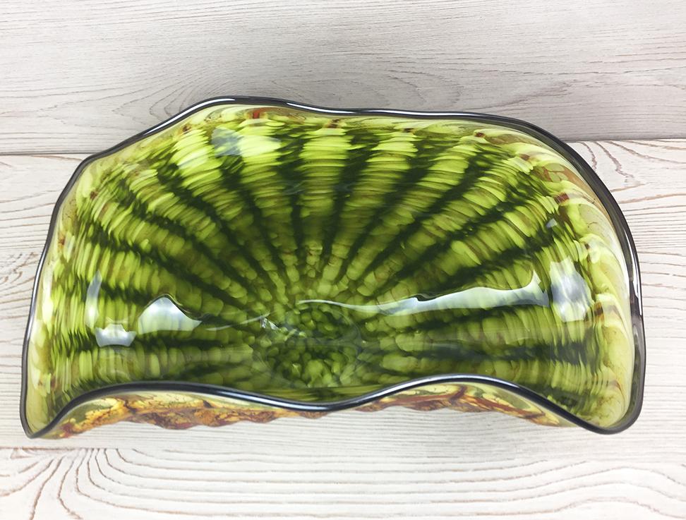Large Primitive Shell, Lime