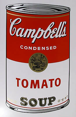 Campbell's Tomato Sou... by  Andy Warhol - Masterpiece Online
