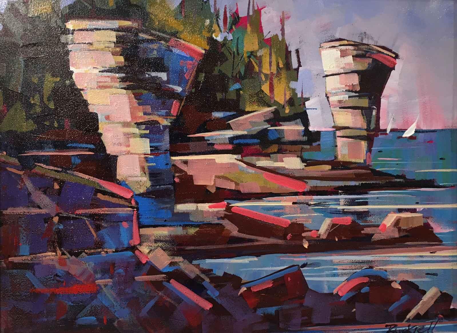 Flower Pot Pinks by  Brian Buckrell - Masterpiece Online