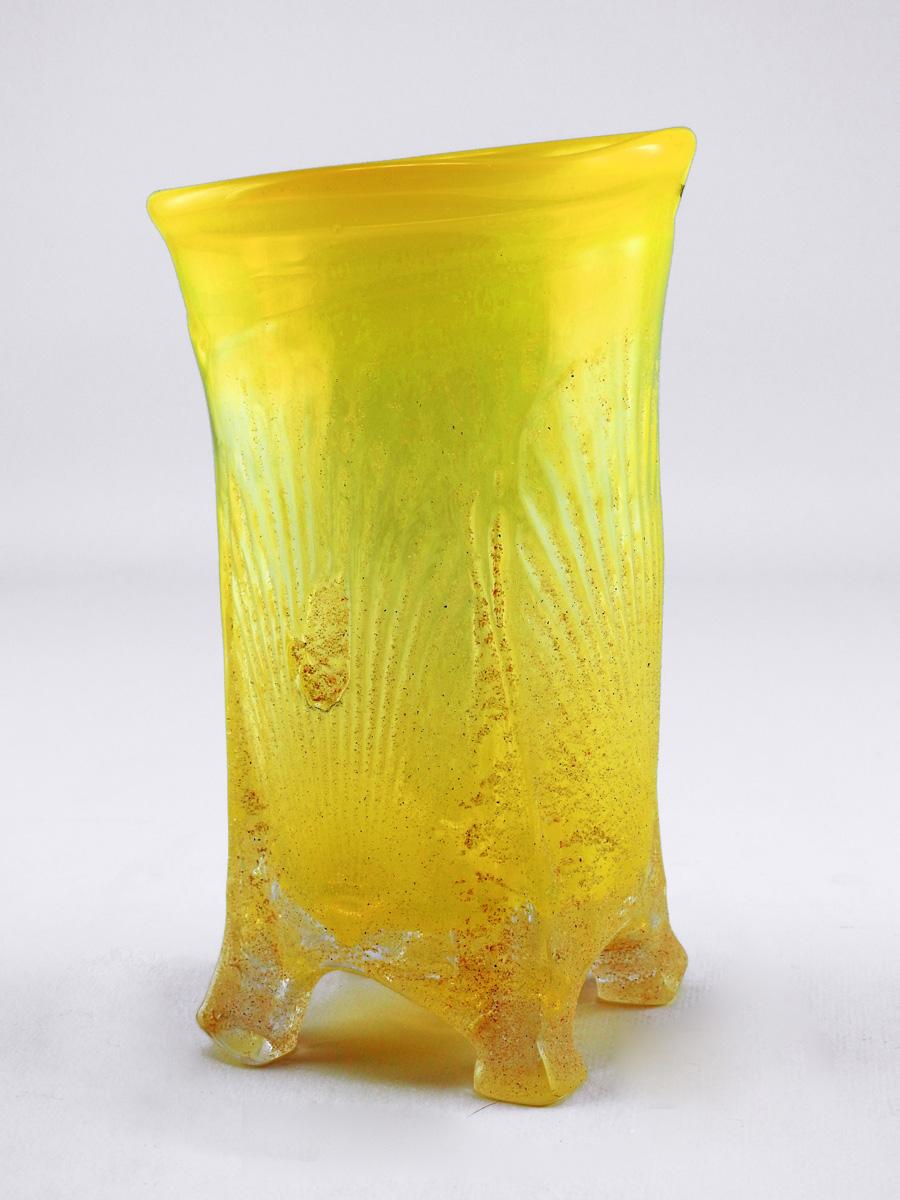Vase/Medium Yellow by  Neal Drobnis - Masterpiece Online