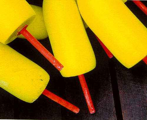 Yellow Buoys 1998 R1 by  Alison Shaw - Masterpiece Online