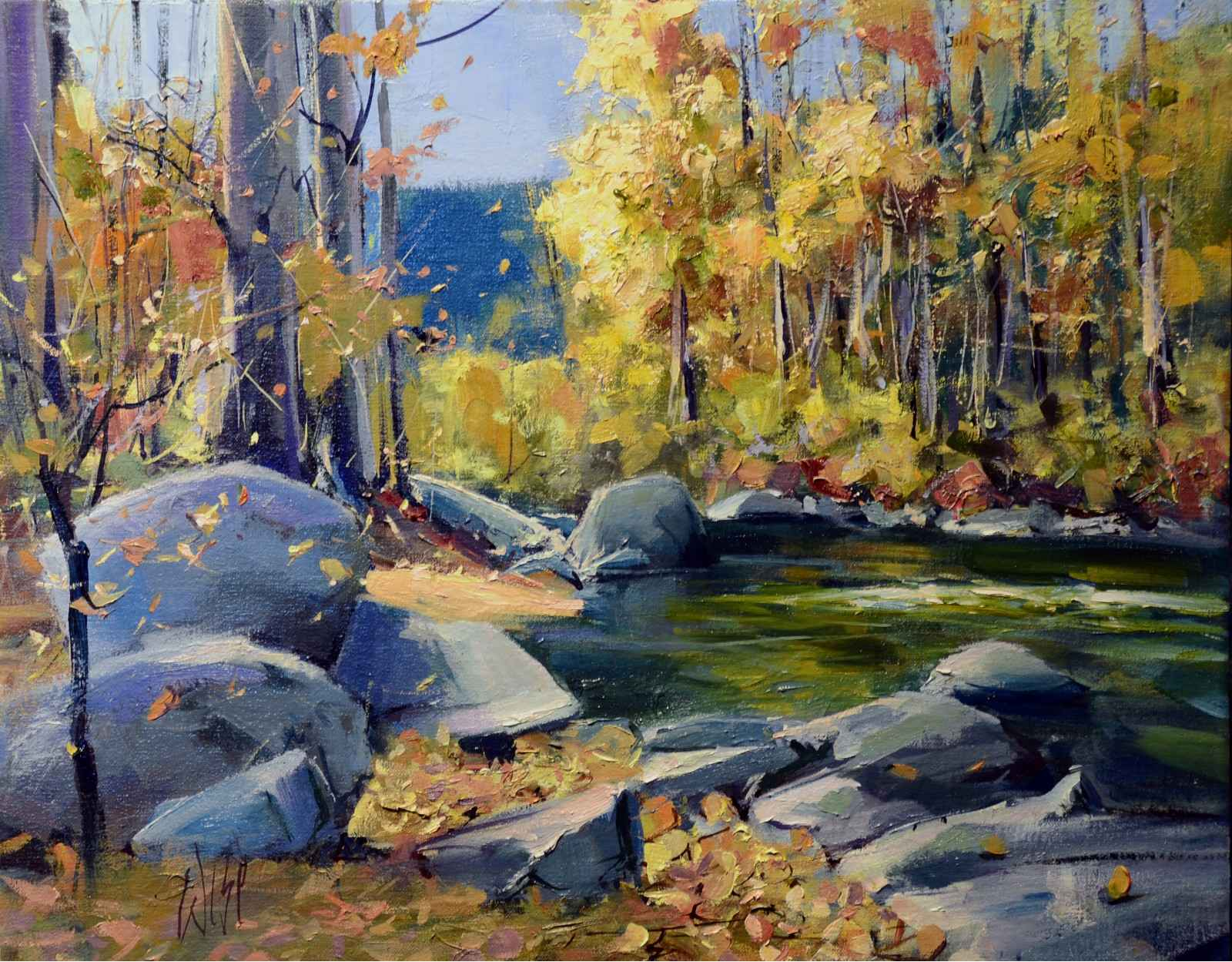 Canyon Creek by  Mike Wise - Masterpiece Online