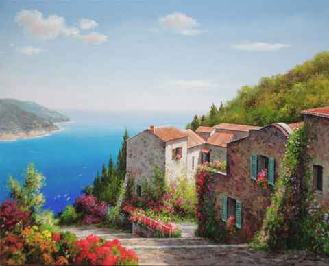 Stone Houses by  Soon Ju Choi  - Masterpiece Online