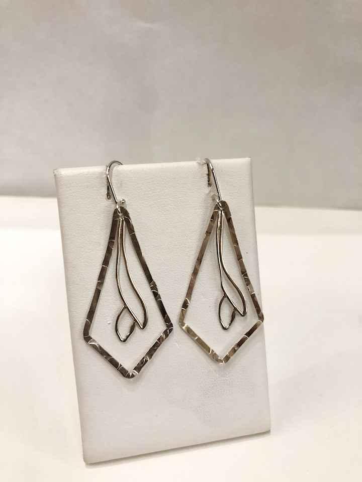 Silver Earrings by  Dorit Herlinger - Masterpiece Online