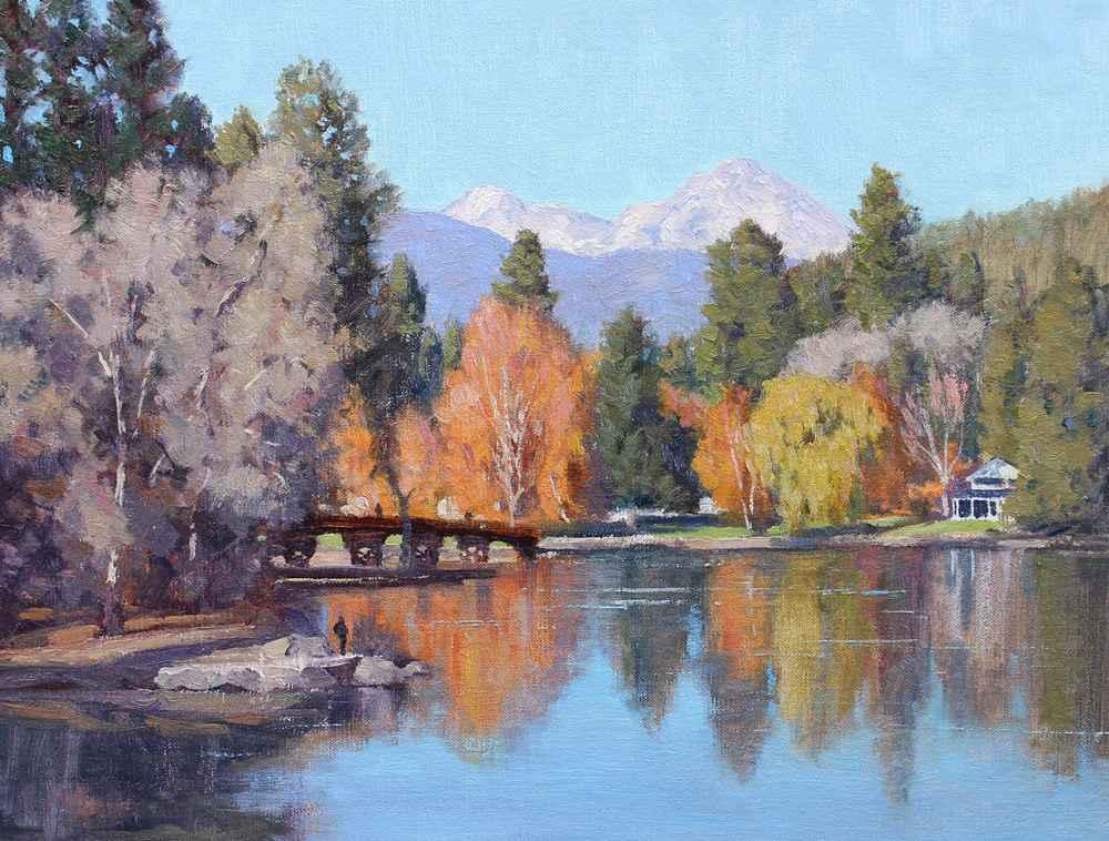 Mirror Pond  by  Bart Walker