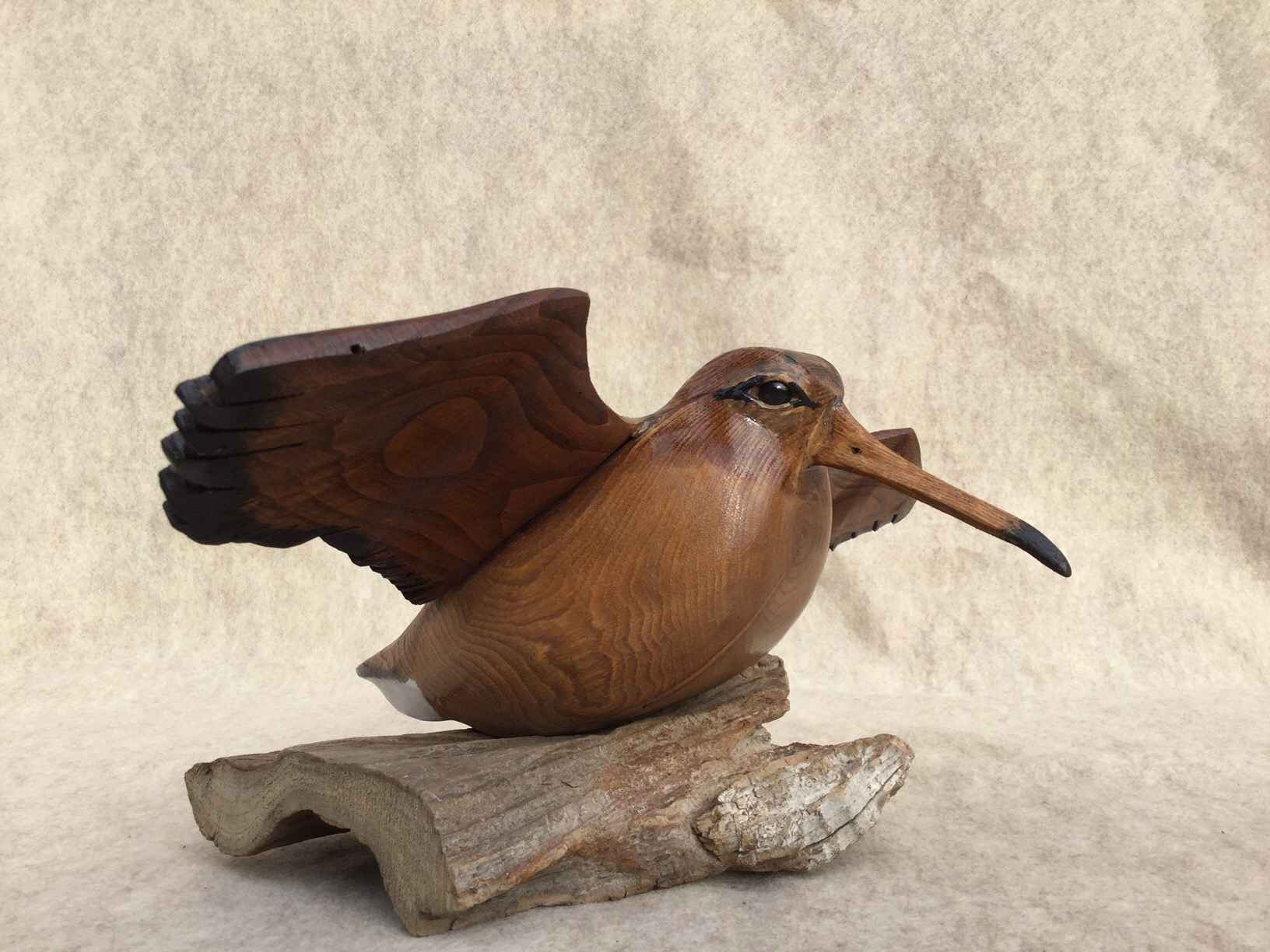 Woodcock with Wings by  Wendy Lichtensteiger - Masterpiece Online
