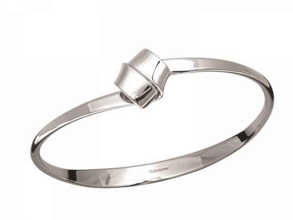Love Knot Bracelet Sterling Silver, size M