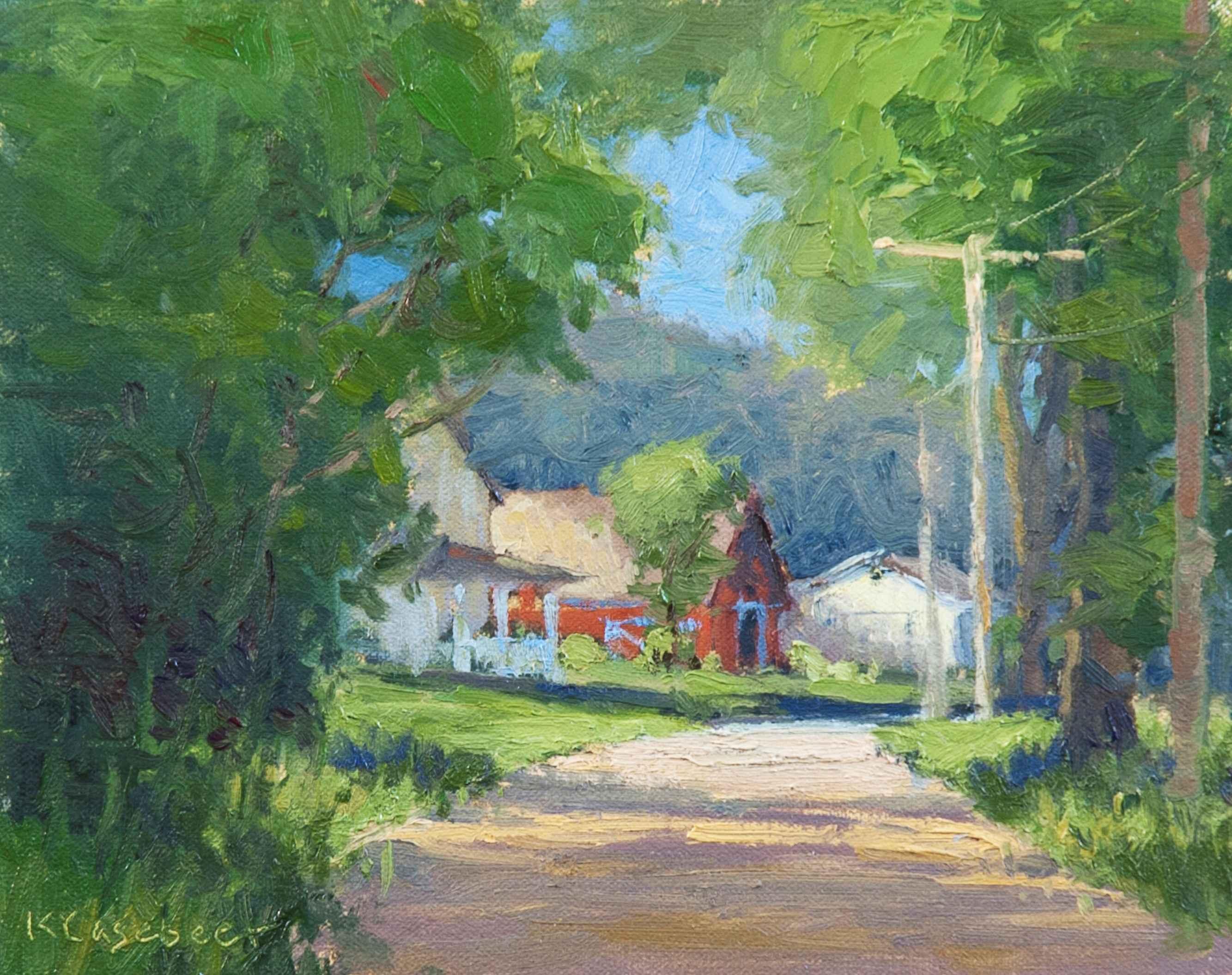 Arlington Road by  Kim Casebeer - Masterpiece Online