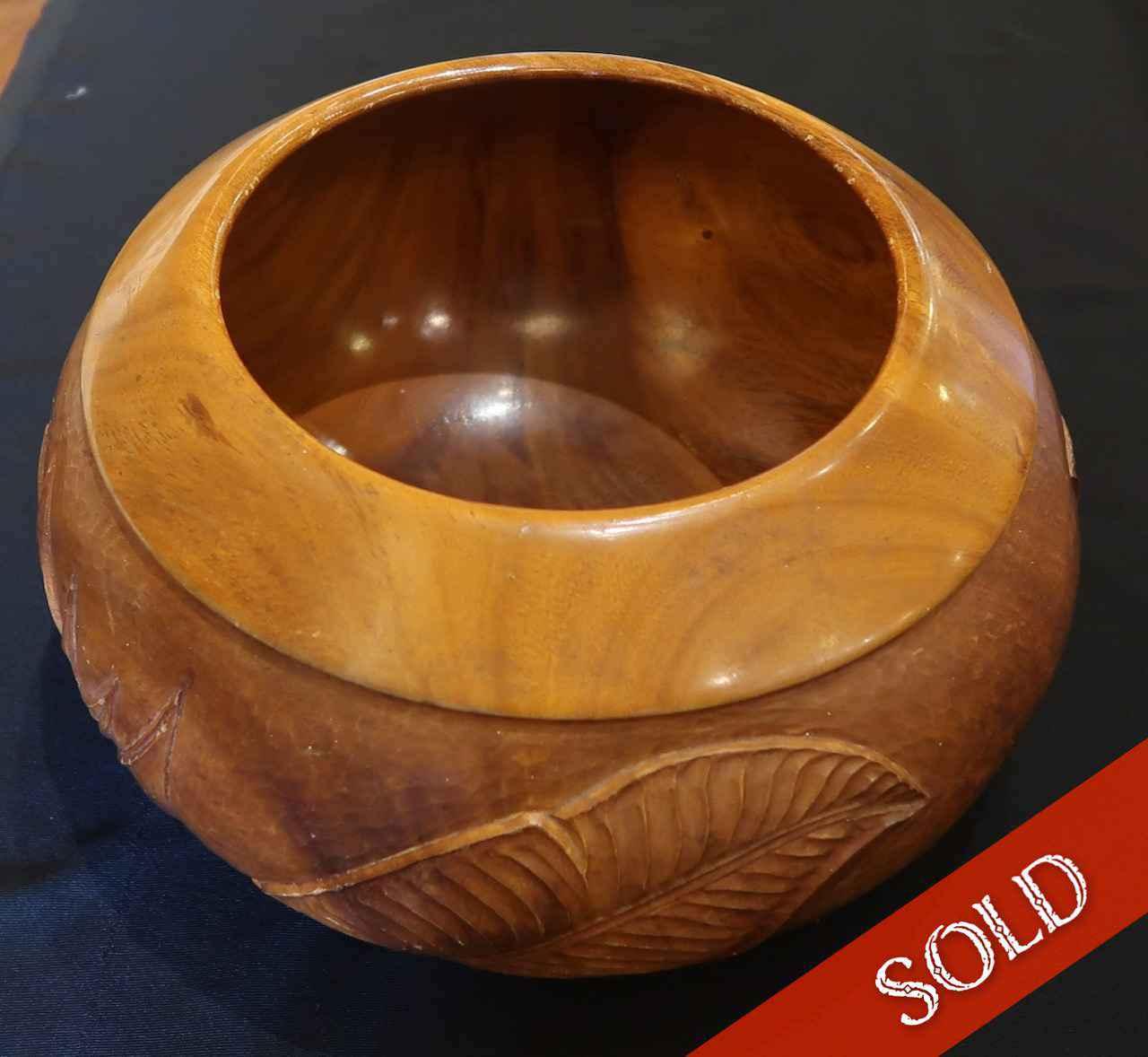 Monkeypod Carved Bowl by  Fritz Alpenalp (1907-1977) - Masterpiece Online