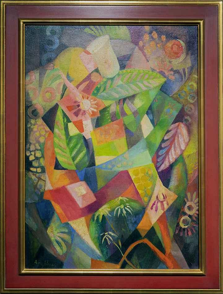 Cubist Still Life by Hèléne Oettingen