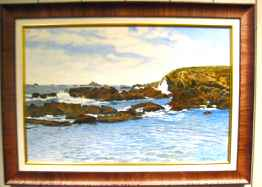 Hawaiian Coast by  Frank Montague Moore - Masterpiece Online