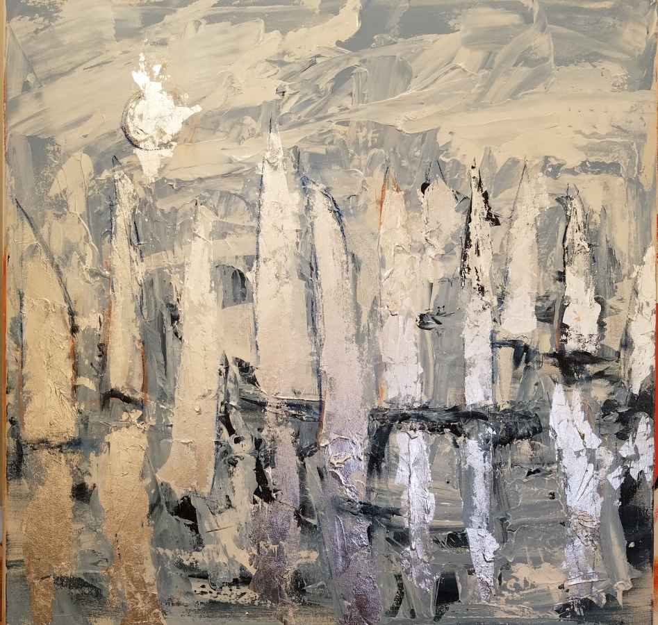 Blue Regtta 2 by  Steve Lyons - Masterpiece Online
