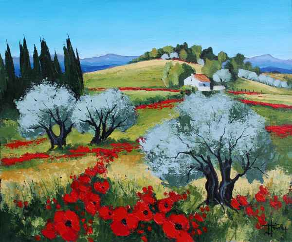 Coquelicots Sauvage by   Triolet  - Masterpiece Online