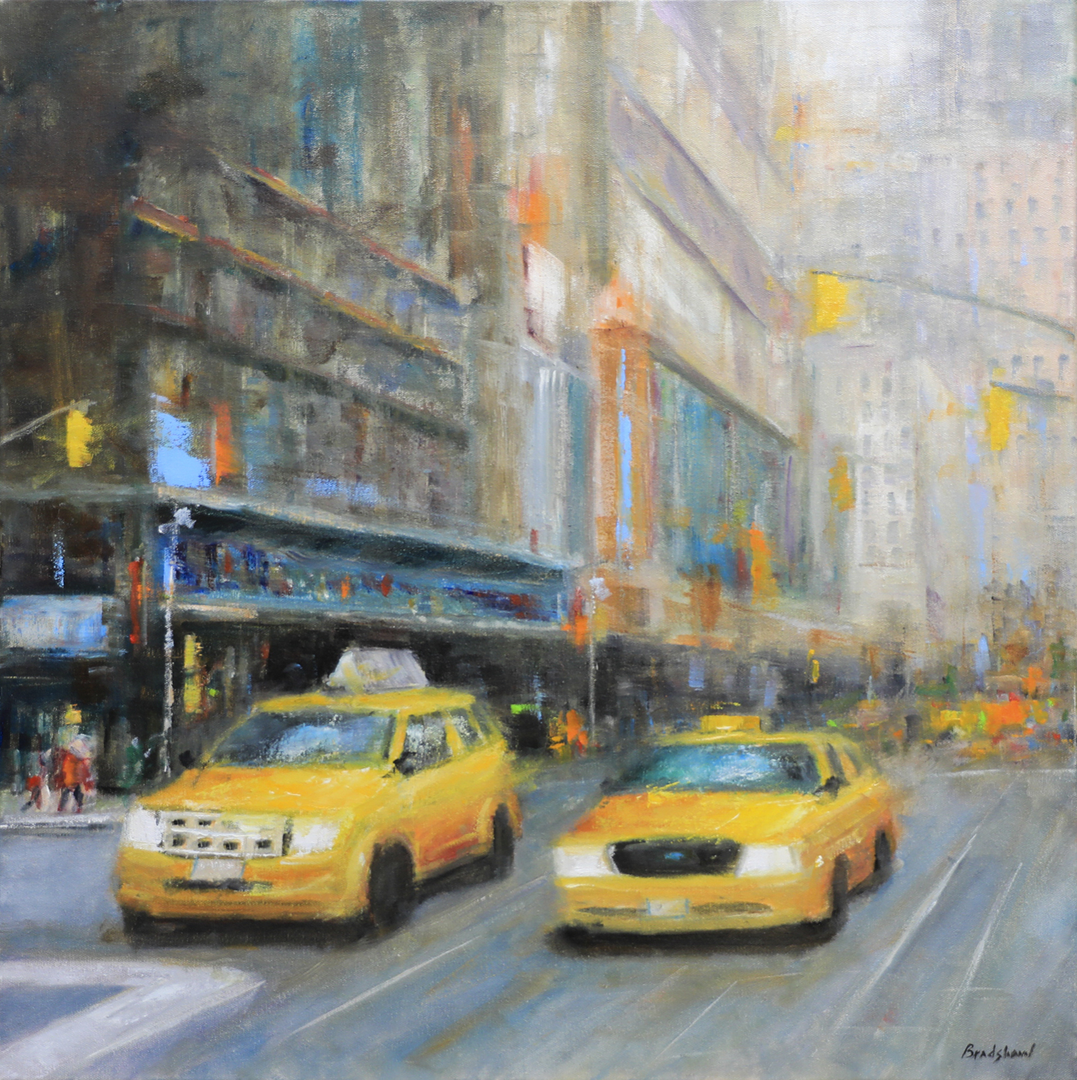West 23rd Street by  Bob Bradshaw - Masterpiece Online