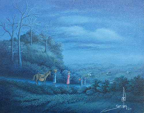Blue Filter by  Jean-Louis SENATUS - Masterpiece Online