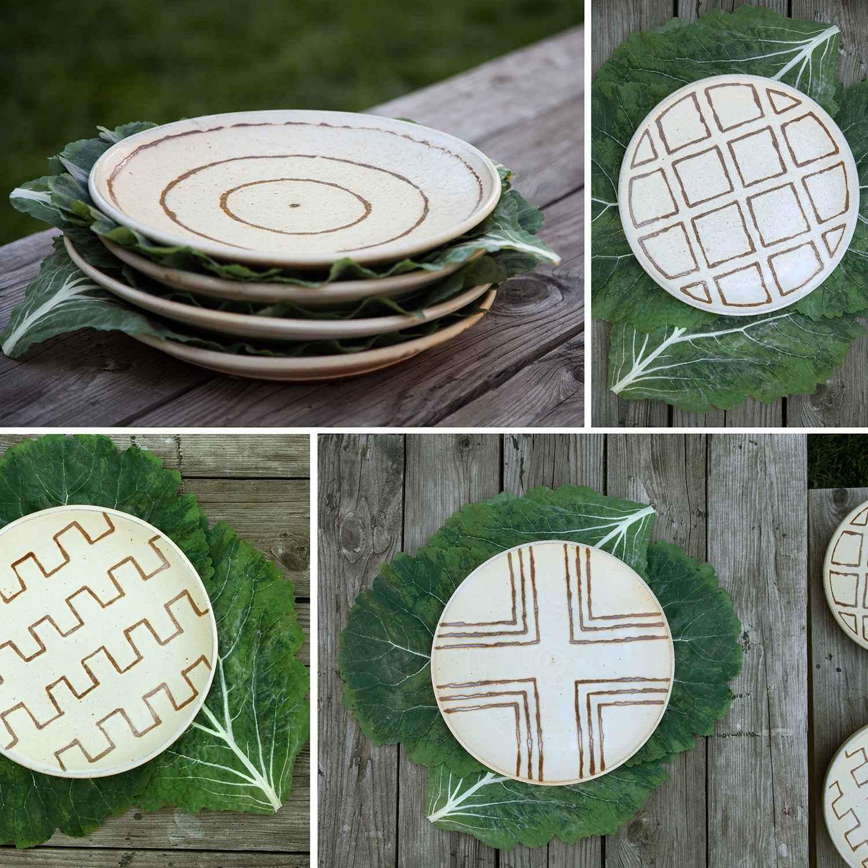 Art a la Carte Platter by  Courtney Martin - Masterpiece Online