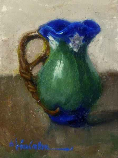 Green with Blue by  Kim Carlton - Masterpiece Online
