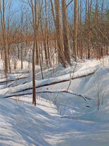 Morning - Snow Filled... by  Michael Wheeler - Masterpiece Online