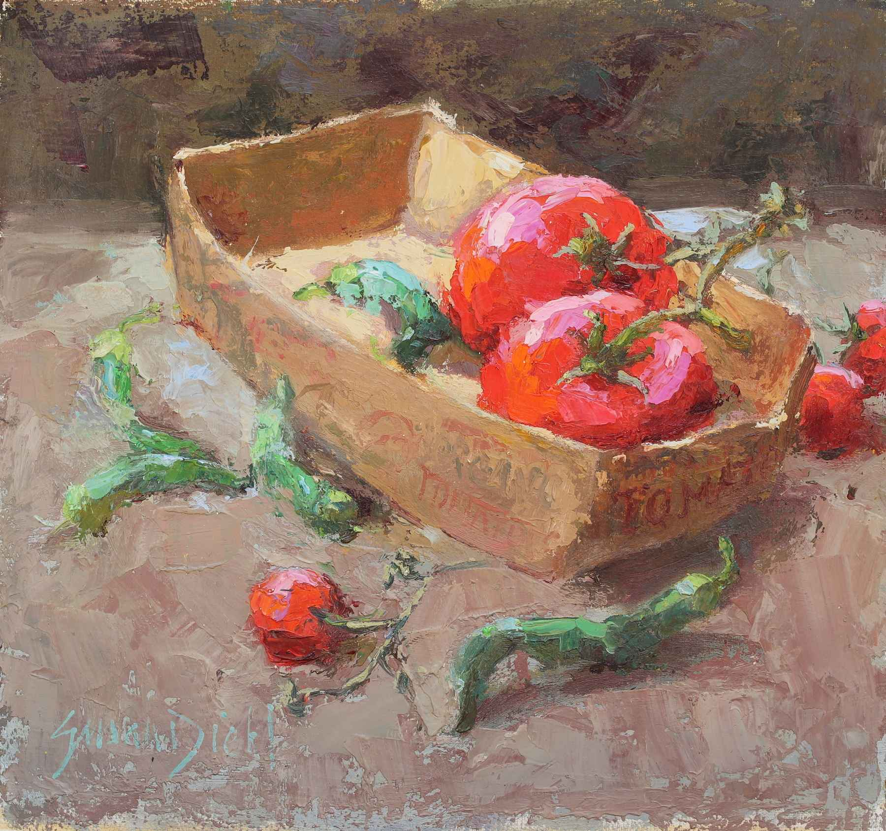 Spicey Red  by  Susan Diehl