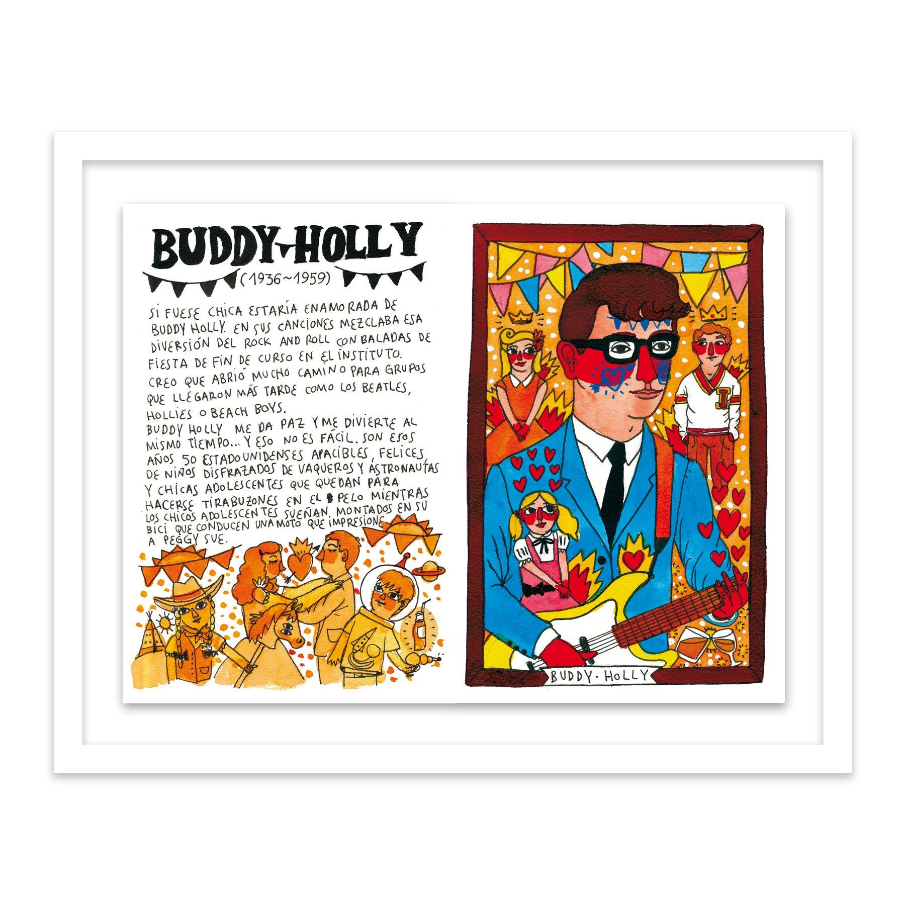 101 Buddy Holly by  Ricardo Cavolo - Masterpiece Online