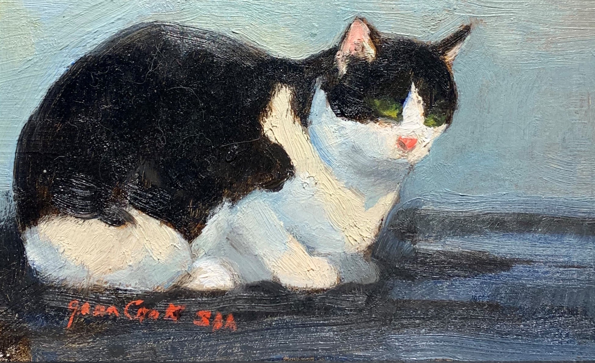 Molly by  Jean Cook - Masterpiece Online