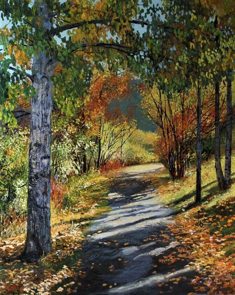 Canmore Path by  Andrew Kiss - Masterpiece Online