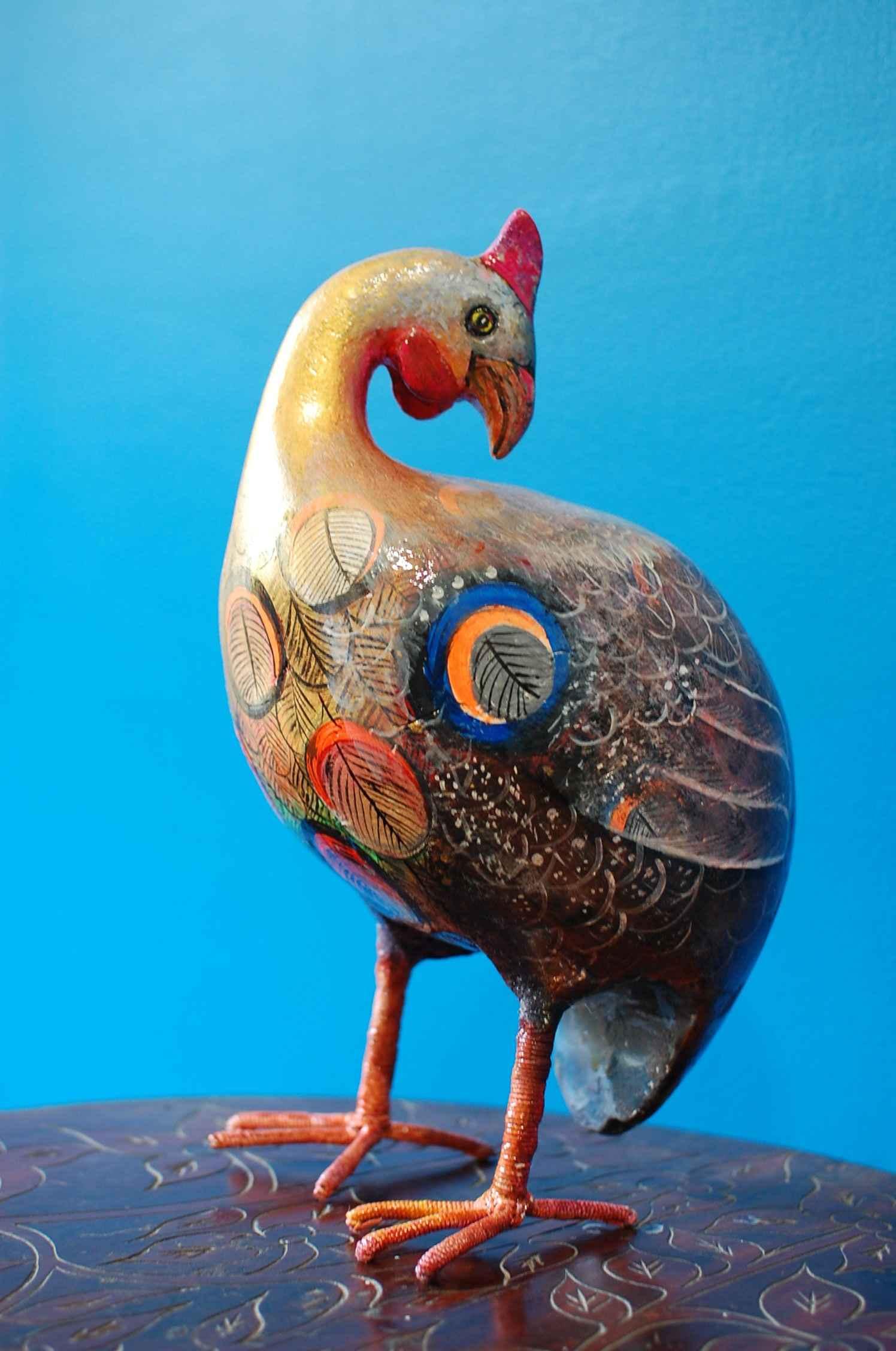 Psychedelic turkey by  Iguerlio DESCARDES - Masterpiece Online