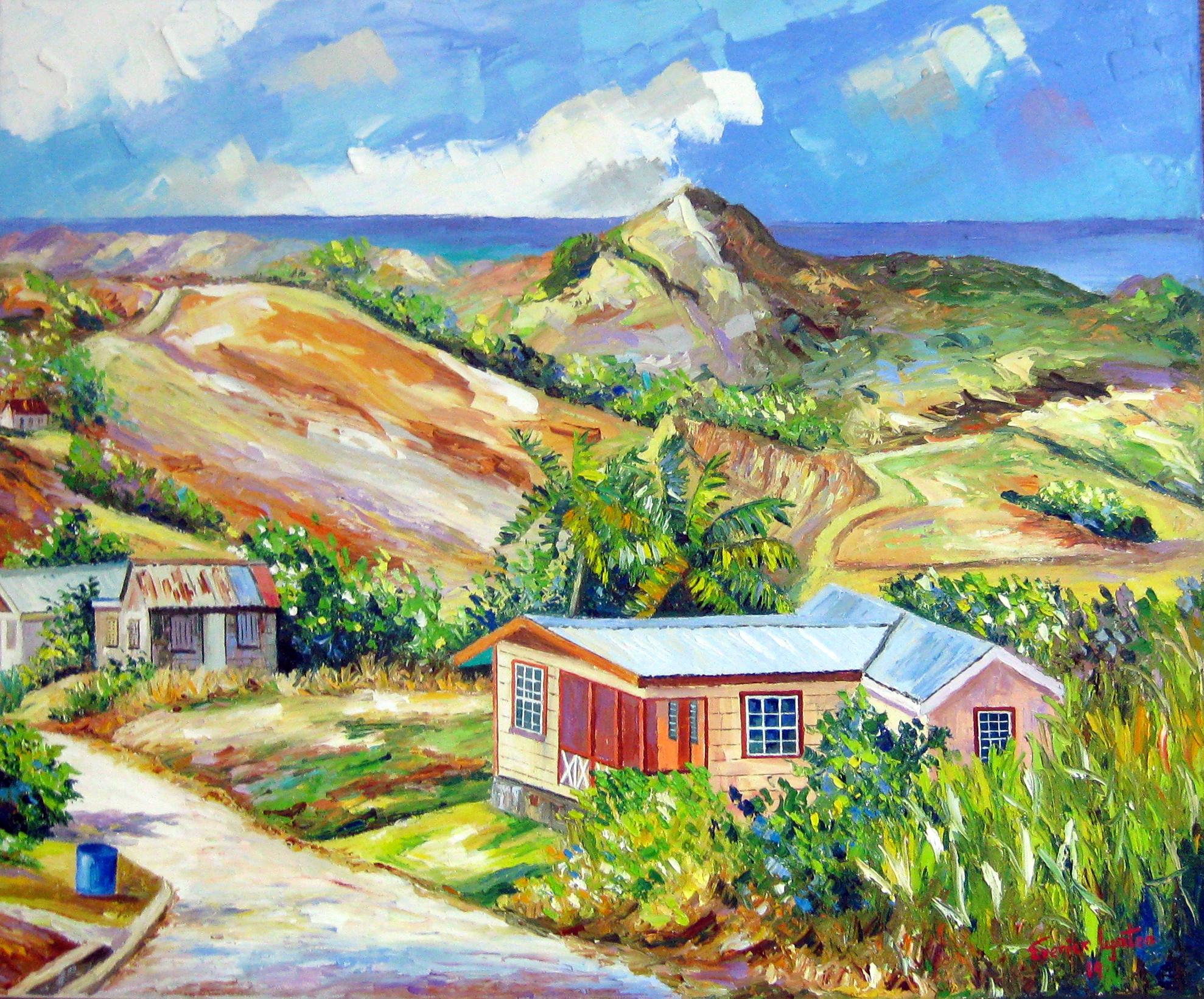 Rural Village by Mr. Everick Lynton - Masterpiece Online