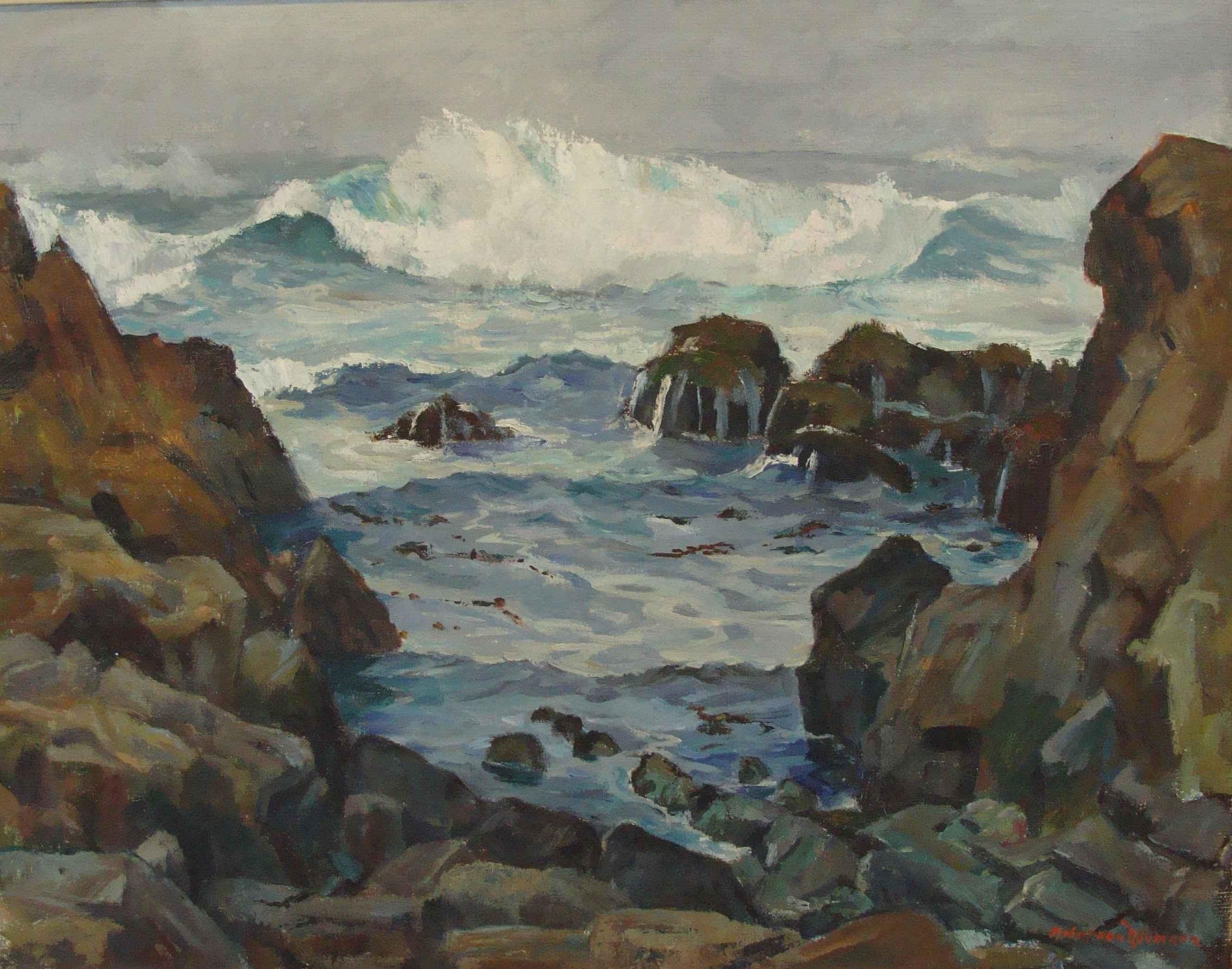 Seashore by Mr. Robert von Neumann - Masterpiece Online