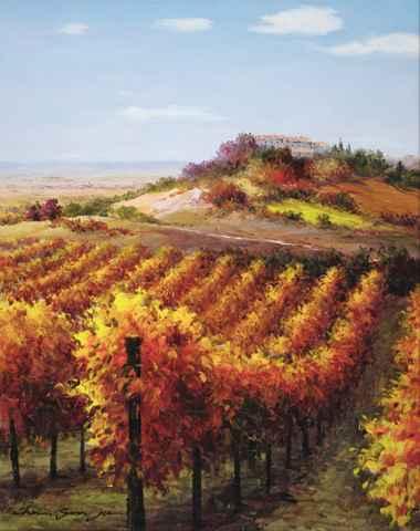 Golden Vines by  Soon Ju Choi  - Masterpiece Online