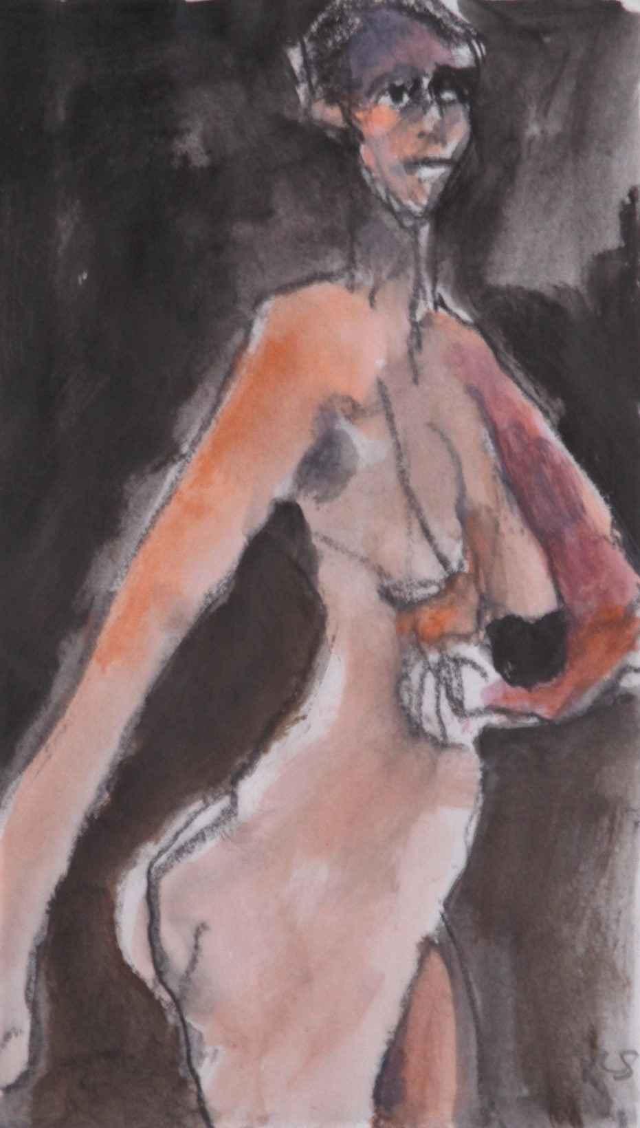 Woman in stride by  Robert Schlegel - Masterpiece Online
