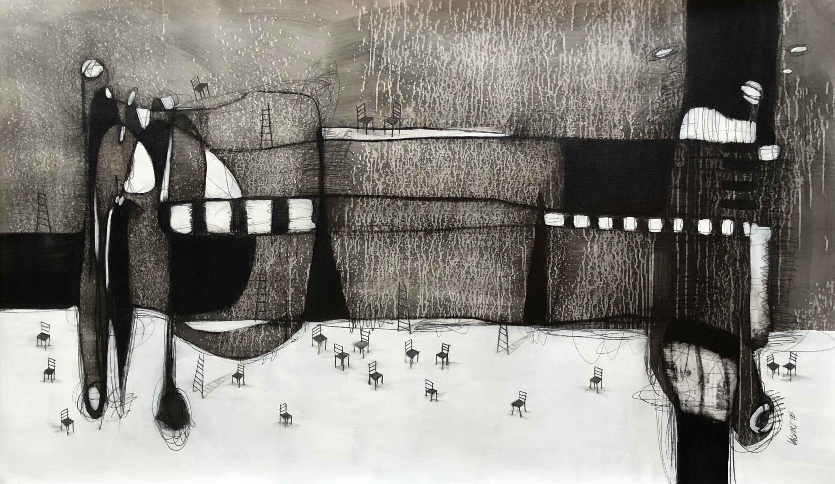 ENTRE GIGANTES by Mr. SERGIO VALENZUELA (VALENZ) - Masterpiece Online
