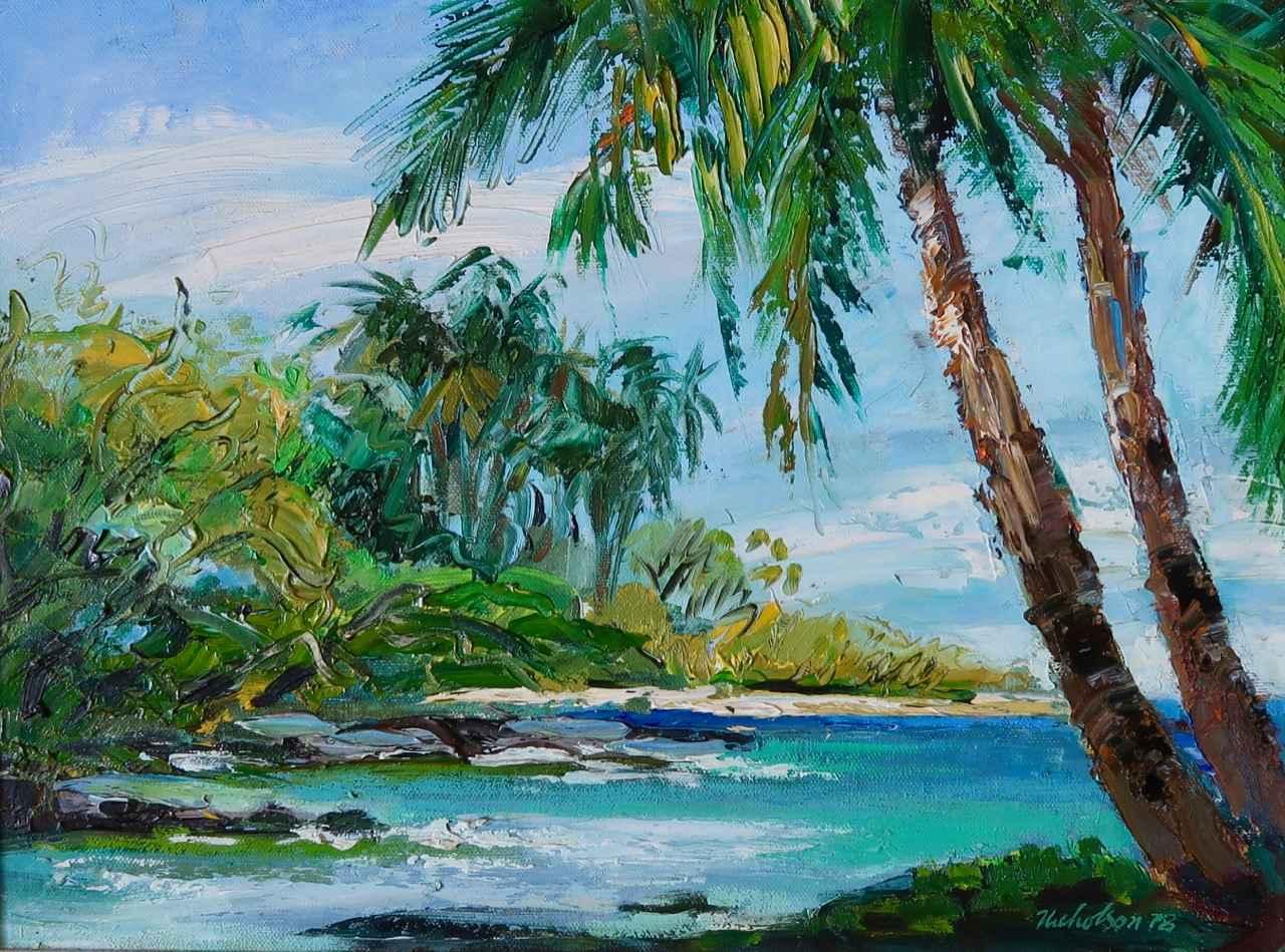 Puako, Hawai'i by  Emrich Nicholson (1913-2001) - Masterpiece Online