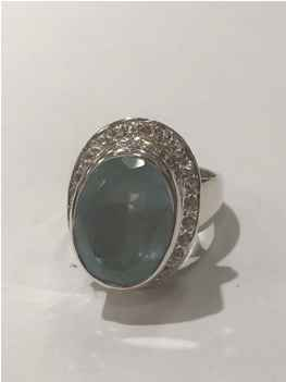 Aquamarine Ring by  Starborn  - Masterpiece Online