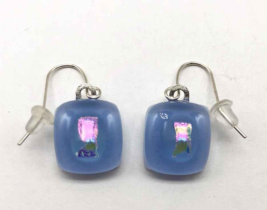 Bitty Earrings Periwinkle