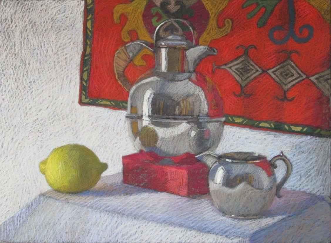 Kazakh Tea Party by  Melissa Hefferlin - Masterpiece Online